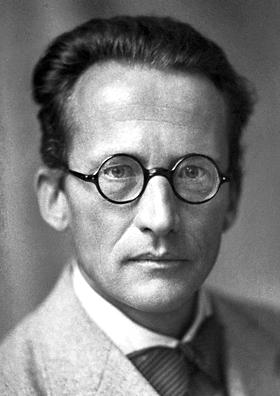 Erwin Schrödinger, 1933. Courtesy Nobel Foundation.