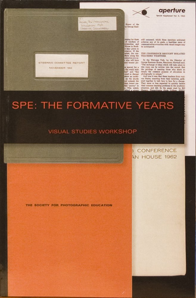 "Nathan Lyons, ""SPE: The Formative Years"" (2012), cover"