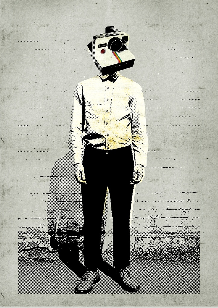 Street art poster, anonymous