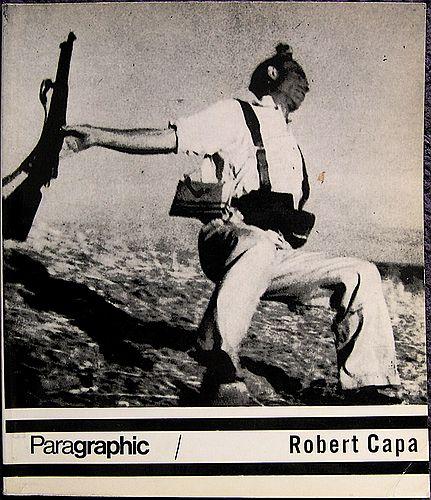"Anna Fárová, ed., ""Robert Capa"" (1969) cover"