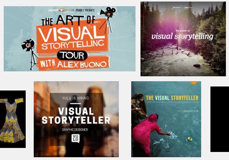 """Google Images search results for """"visual storyteller,"""" screenshot, 6-1-16"""