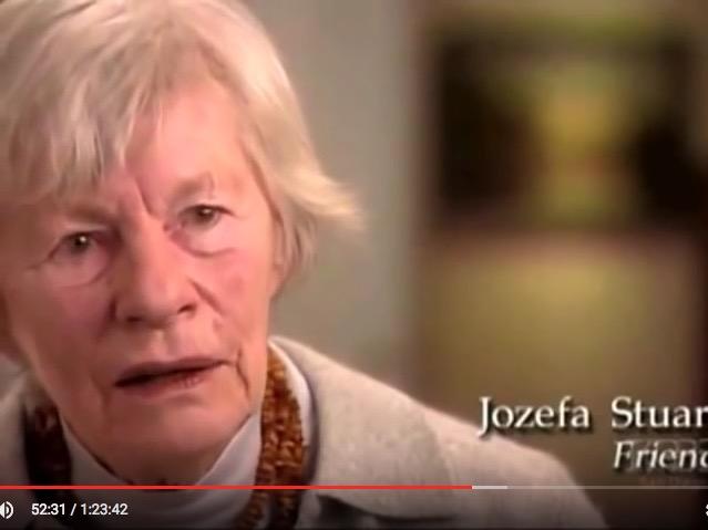 "Jozefa Stuart, ""Robert Capa: In Love and War"" (2003), screenshot"
