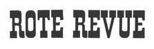 Rote Revue logo. 1966