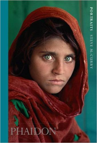 "Steve McCurry, ""Portraits"" (2013), cover"