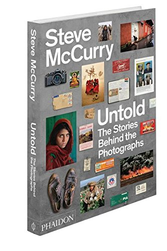 "Steve McCurry, ""Untold: The Stories Behind the Photographs"" (2013), cover"