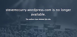 Steve McCurry, WordPress blog, screenshot, 6-1-16