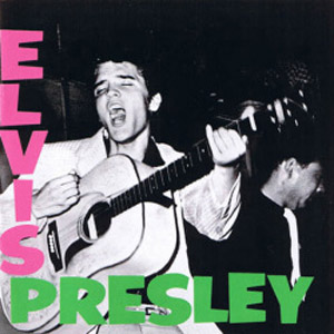 Elvis Presley LP (1956), cover