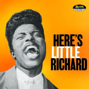 """""""Here's Little Richard,"""" Specialty LP (1957), cover"""
