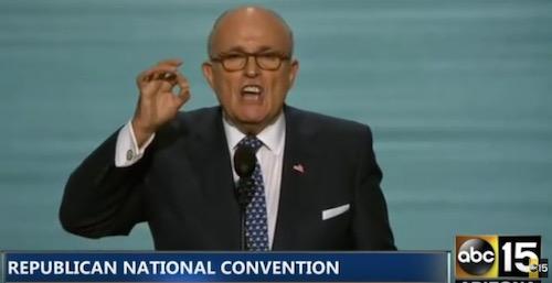 Rudy Giuliani, RNC, 7-18-16, screenshot