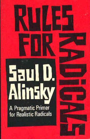 "Saul Alinsky,"" Rules for Radicals"" (1971), cover"