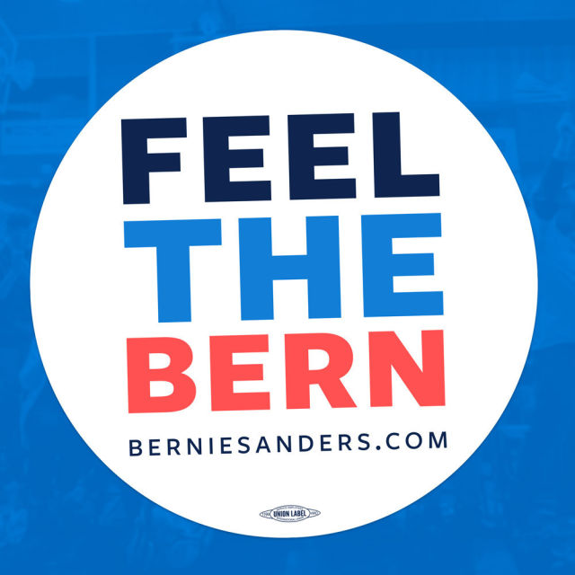 Feel the Bern logo 2016
