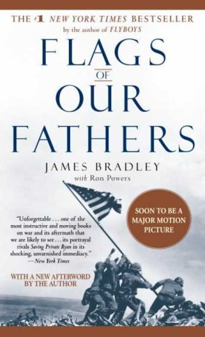 "James Bradley, ""Flags of Our Fathers"" (2000), cover"