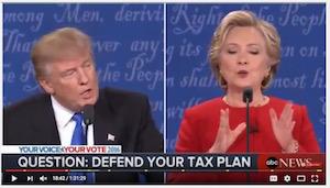 Clinton-Trump debate, 9-26-16, screenshot (d)