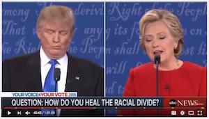 Clinton-Trump debate, 9-26-16, screenshot (e)