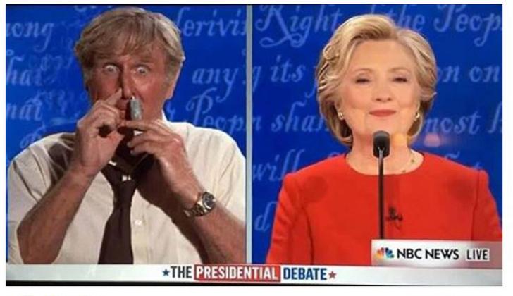 Clinton-Trump debate, 9-26-16, anonymous meme