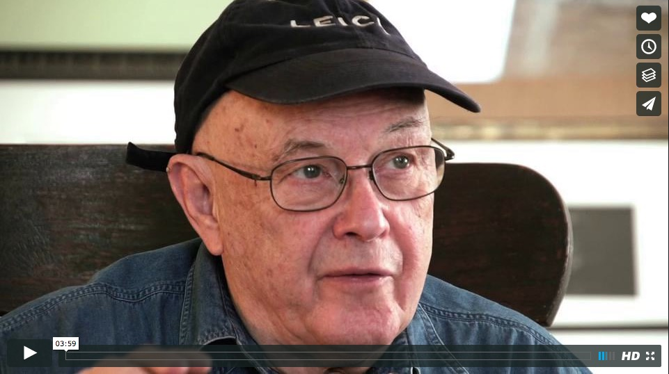 """Bruce Davidson: A Lifetime with Leica,"" video (2012), screenshot"