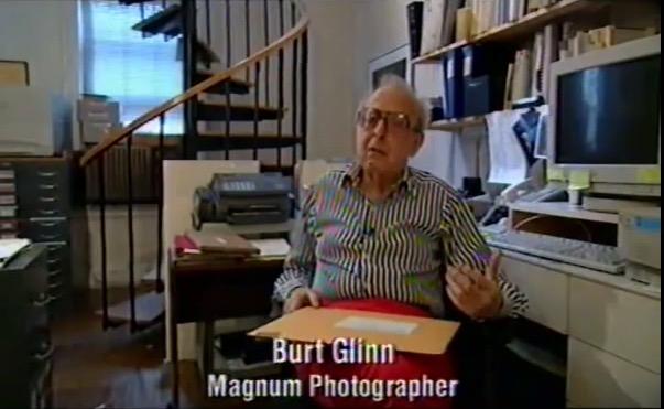 "Burt Glinn, ""Magnum Photos: The Changing of a Myth"" (1998), screenshot"