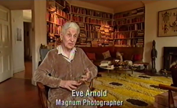 "Eve Arnold, ""Magnum Photos: The Changing of a Myth"" (1998), screenshot"