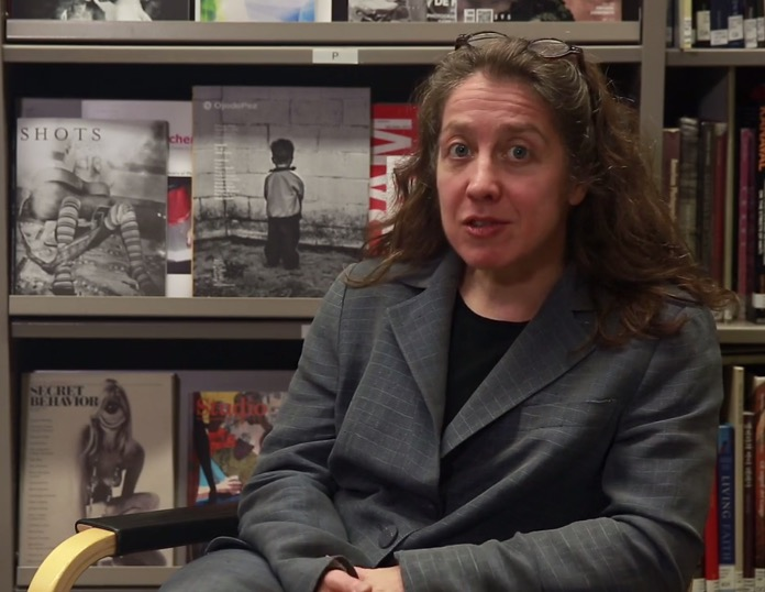 """ICP Spotlights: Deirdre Donohue,"" video (2015), screenshot"