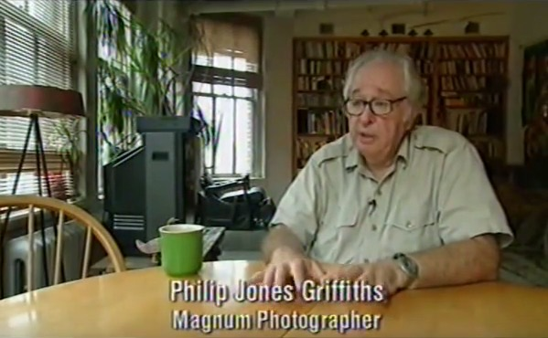 "Philip Jones Griffiths, ""Magnum Photos: The Changing of a Myth"" (1998), screenshot"