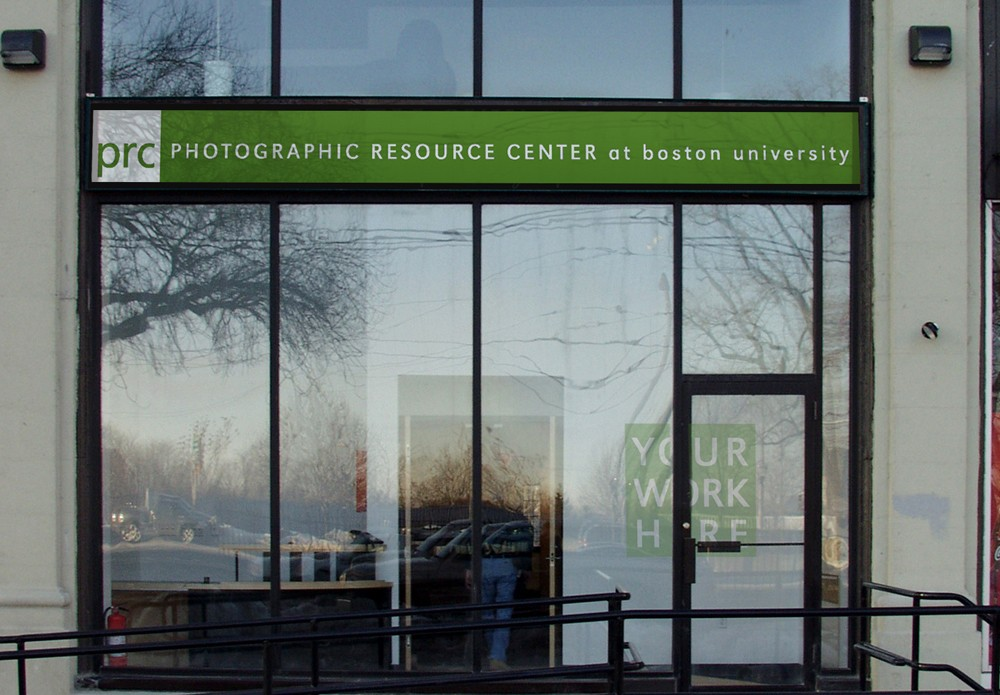 Photographic Resource Center at Boston University, entrance