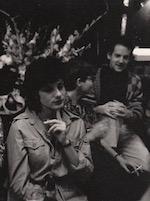 Magnum Photos, Old Towne party, 1986. (l-r) Janice Lipzin, Pamela Dunston, Ziya Danishmend. Photo by Susan Meiselas.