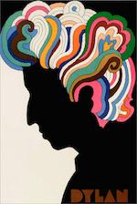 Bob_Dylan by Milton Glaser, poster, 1967