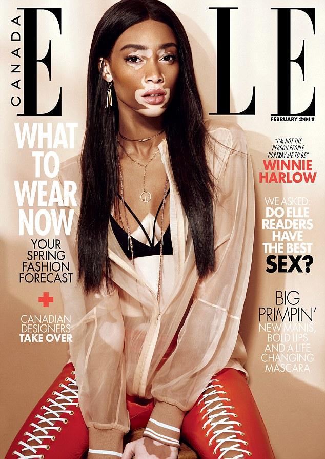 Elle magazine, February 2017, cover