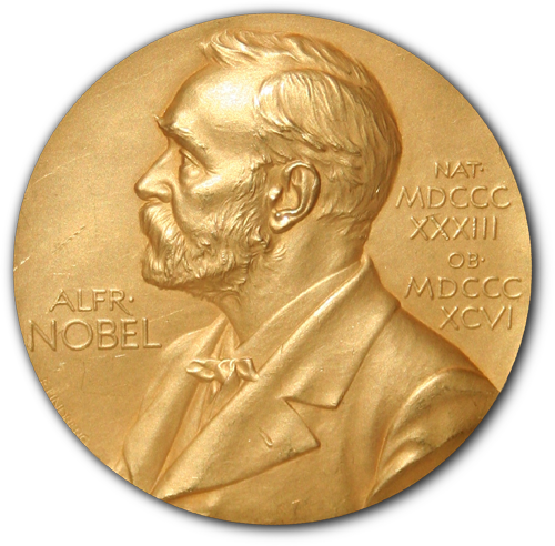 Nobel Prize medallion