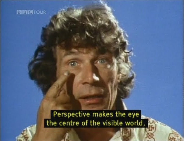 "John Berger, ""Ways of Seeing,"" BBC (1972), screenshot"