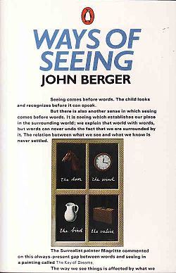 "John Berger, ""Ways of Seeing"" (1972), cover"