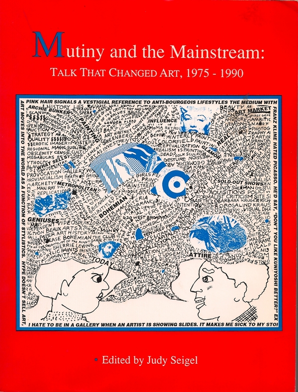 "Judy Seigel, ed., ""Mutiny and the Mainstream"" (1992), cover"