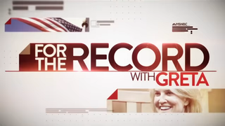 """For the Record with Greta,"" MSNBC, logo"