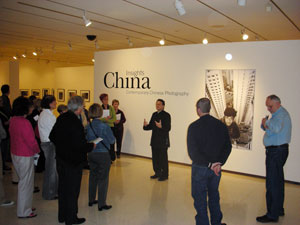 "A. D. Coleman, ""China: Insights"" opening, Univ. of Oklahoma, 4-18-08"