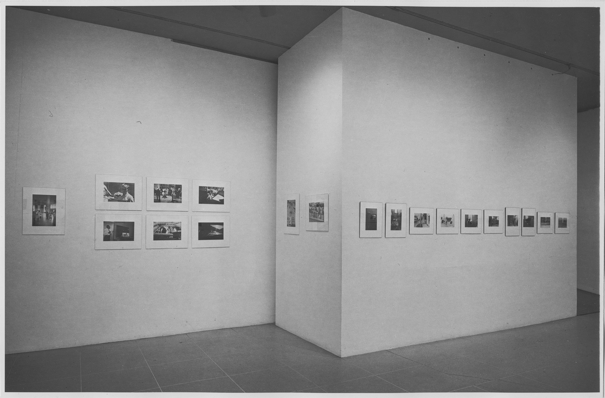 """New Documents"" (1967). Installation shot courtesy Museum of Modern Art."