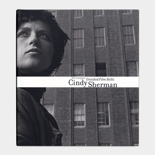 "Peter Galassi, ""Cindy Sherman: The Complete Untitled Film Stills"" (2003), cover"