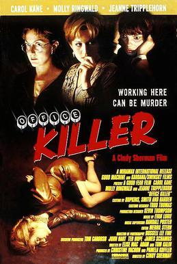 """""""Office Killer,"""" poster, 1997"""