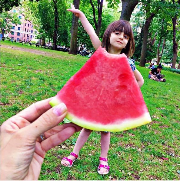 "Watermelon ""dress,"" @mommyshorts / Via instagram.com"