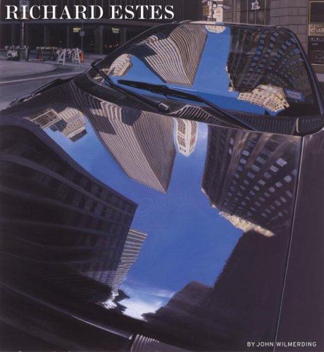 """John Wilmerding, """"Richard_Estes,"""" monograph (2012), cover"""