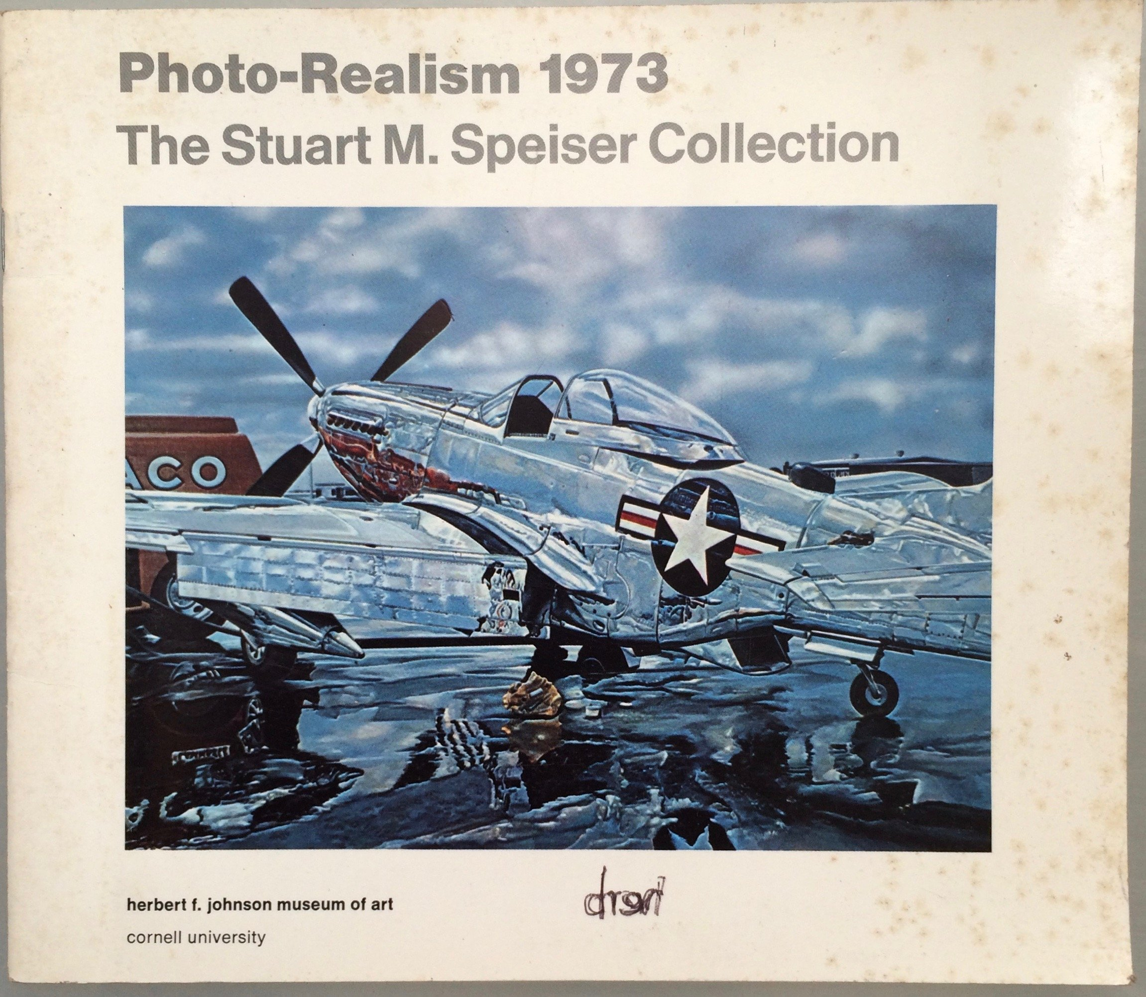 """""""""""Photo-Realism 1973: The Stuart M. Speiser Collection,"""" catalog, cover"""