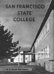 San Francisco State College brochure, ca. 1955