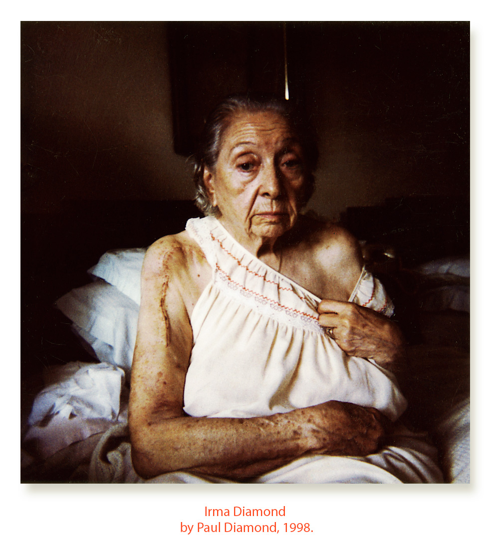 """Paul Diamond, """"Portrait of Irma Diamond,"""" 1998"""