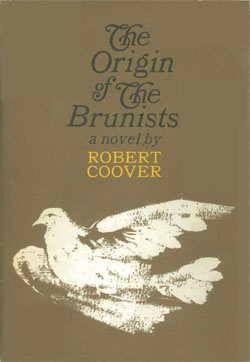 "Robert Coover, ""The Origin of the Brunists"" (1966), cover"