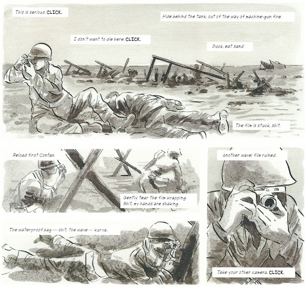 A Graphic Biography Robert Capa