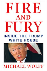 "Michael Wolff, ""Fire and Fury"" (2018), cover"